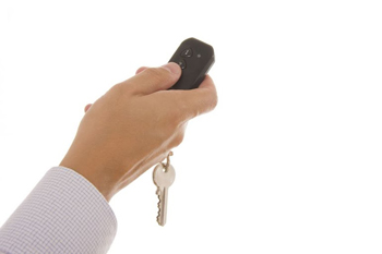 Garage Door Remote Clicker in Washington